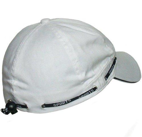 Hatland Headwear witte sport cap van katoen