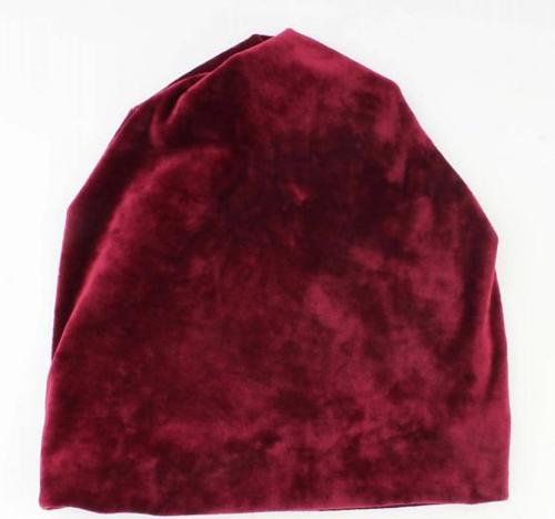 Indini bordeaux rode hoofdband fluweel