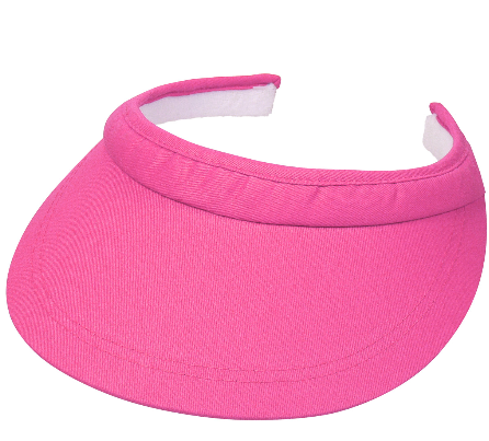 LISA Stevige klem zonneklep kleur pink