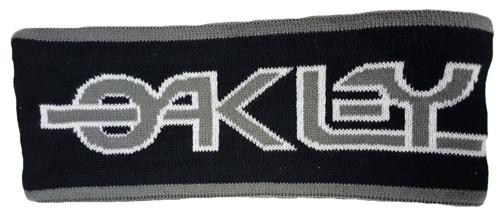 OAKLEY Retro Tube hoofdband zwart