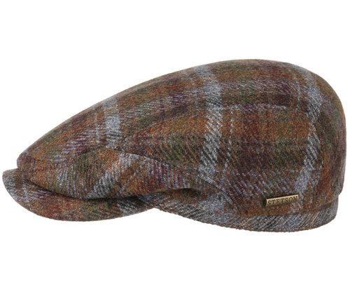 Prachtige Stetson Driver cap Wool Cashmere in warme kleuren