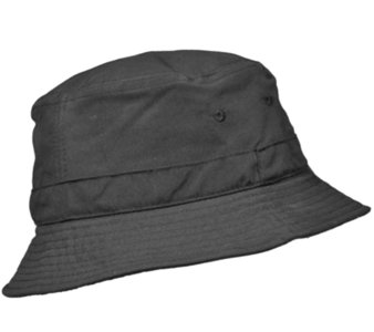 Balke vissershoed outdoorhoed UV protectie zwart