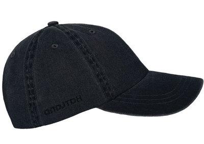 hatland joey antraciet zwart katoen katoenen zomerpet pet cap heren