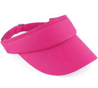 dames zonneklep pink roze katoen
