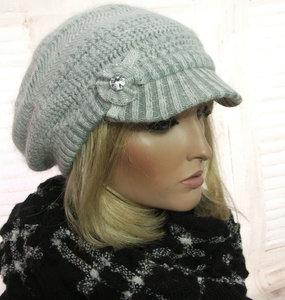 baret baretje grijs winter