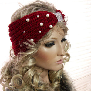 haarband hoofdband rood