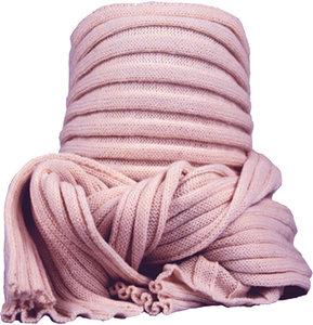 sjaal dames lichtroze