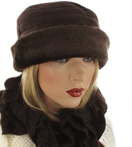 fleece hoedje met bont