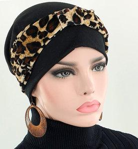 chemo set hoofdband met muts