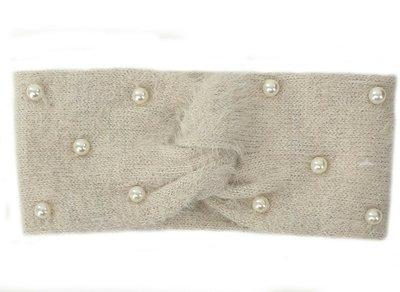 hoofdband haarband met parels