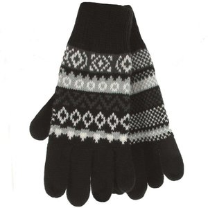 Heren thermal winterhandschoenen zwart