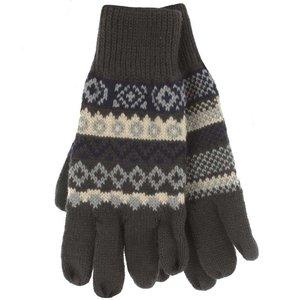 Heren thermal winterhandschoenen grijs