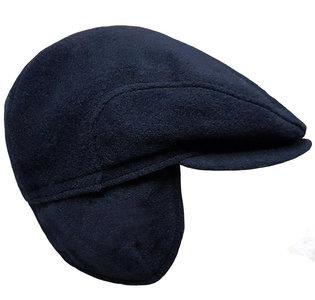 fiebig herenpet oorwarmers blauw donkerblauw oorflappen