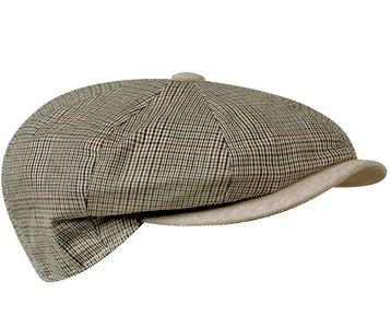 beige oversized newsboy cap pet