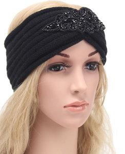haarband hoofdband zwart