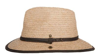 hatland stanwood raffia hoed