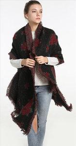 sjaal winter dames omslagdoek