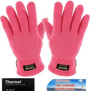 handschoenen fleece roze