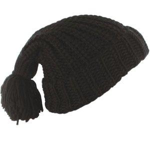 baggy oversized muts winter wintermuts damesmuts zwart