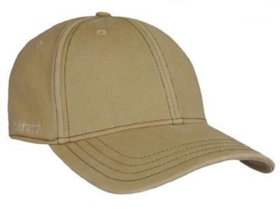 Stetson Amherst Flex fit voorgevormde cap beige met UV- protectie 40+