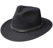 fiebig hoed zwart opvouwbaar