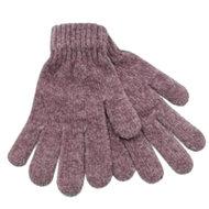 chenille handschoenen dames oudroze
