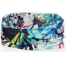 Losse-hoofdband-blauw-fantasie-print-vlinder