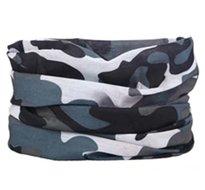 Losse-hoofdband-zwart-grijs-camouflage-print