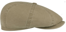 stetson 6 panel cap pet khaki