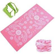 Losse-hoofdband-kleur-roze-paisley-motief