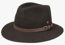 mayser baron georgia trecking hoed donkerbruin