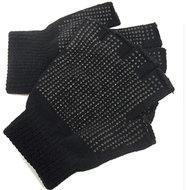 handschoenen vingerloos vingerloze zwart grip