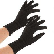 dameshandschoenen zwart lang