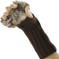 Handschoenen-mofjes-bruin-met-bont-vingerloos