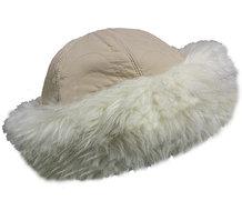bonthoedje beige dameshoed winter