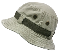 hatland vintage bucket hoedje outdoor visserhoed