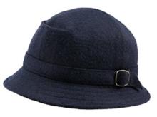globetrotter hoedje blauw