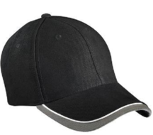 6 panel baseball cap pet herenpet