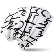 chemo muts graffiti letters wit zwart zomer