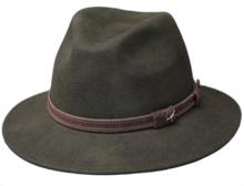 outdoorhoed fiebig jagershoed olijf olive groen hoed herenhoed dameshoed