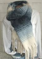 dikke sjaal dames warm