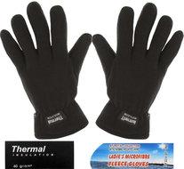 handschoenen fleece zwart