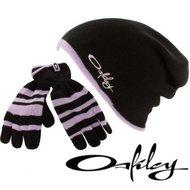 Oakley hanschoenen wintermuts oversized zwart