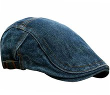 denim driver cap pet zomperpet spijker spijkerstof